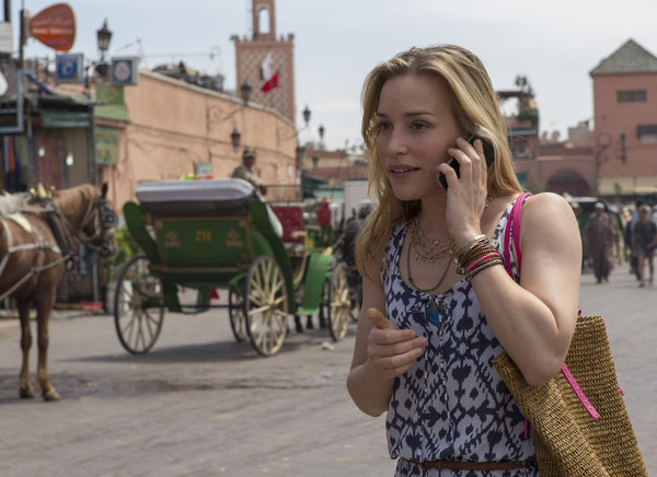 From the `Covert Affairs` episode: `Hang on to Yourself`: Piper Perabo as Annie Walker. (photo by Didier Baverel/USA Network)