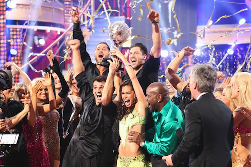 `Dancing With The Stars: All-Stars`: Melissa Rycroft and Tony Dovolani were crowned champions of this all-star season, on the season finale Tuesday, Nov. 27, on the ABC Television Network. (photos by Adam Taylor/ABC)