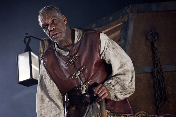 Danny Glover stars as Captain Ahab in Syfy's `Age of the Dragons.` (photo by Natalie Cass/Syfy)