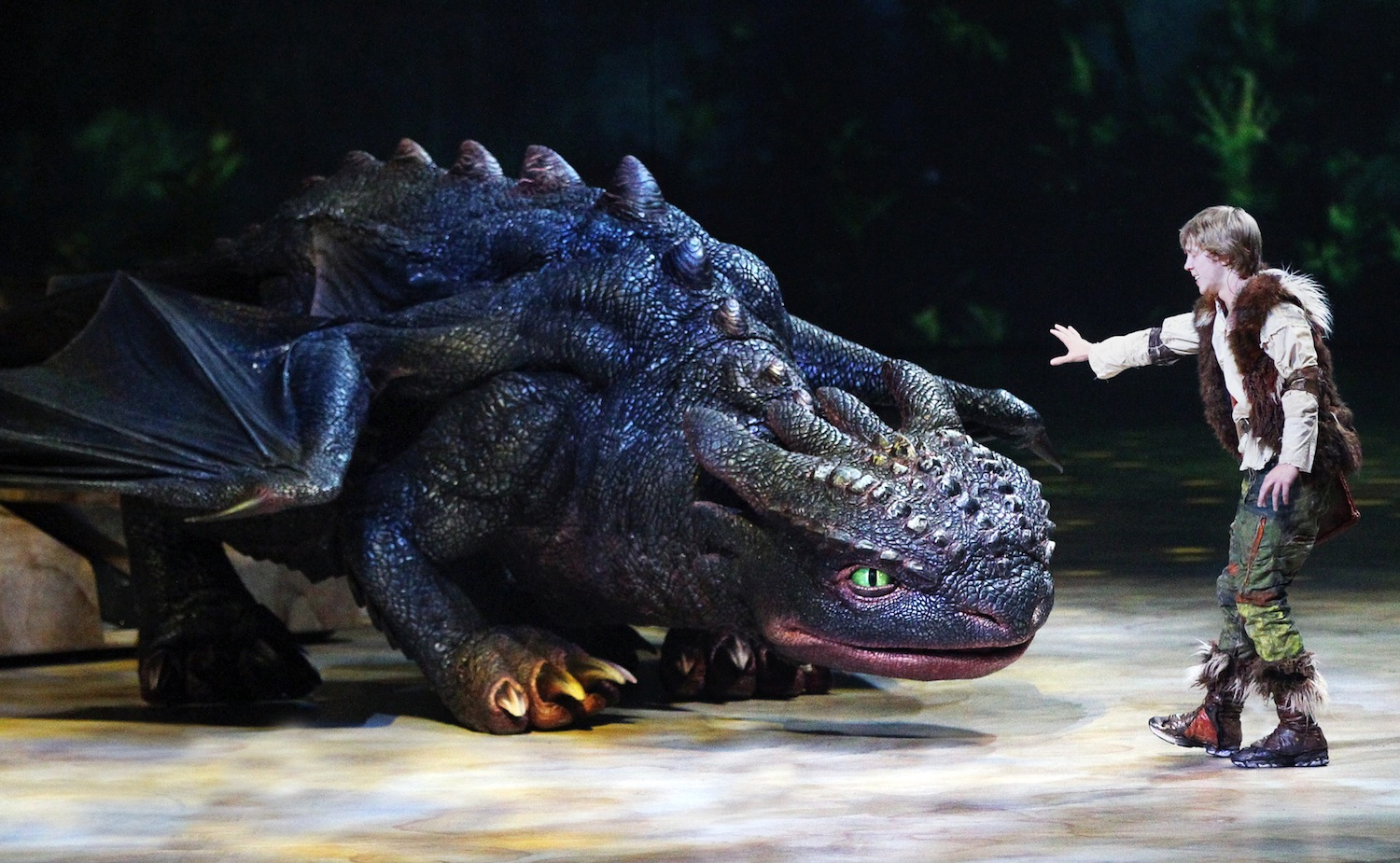 An image from `How To Train Your Dragon: The Live Spectacular.` (photo by Todd Kaplan)
