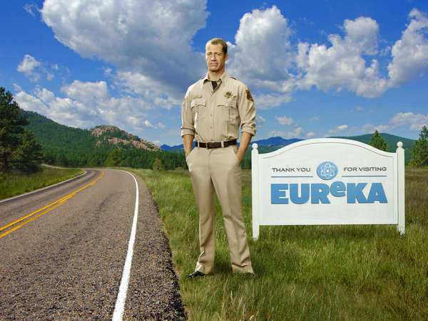 Colin Ferguson stars as Jack Carter on `Eureka.` (photo by Justin Stephens/Syfy)