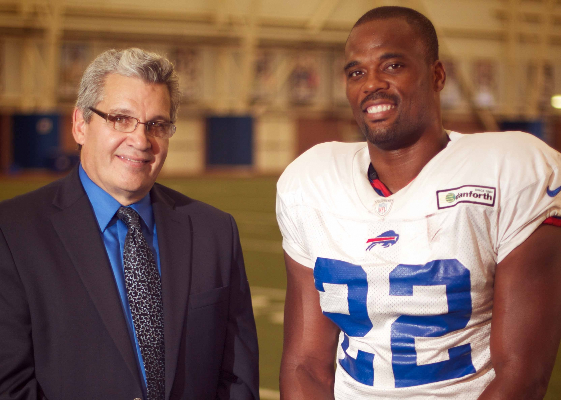 Bob Koshinski and Fred Jackson host `The Fred Jackson Show` on WBBZ-TV.