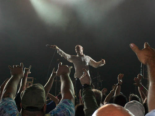 Gord Downie of The Tragically Hip.