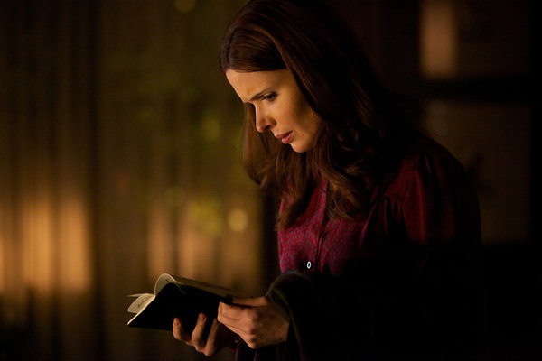 Pictured from `Grimm` is Bitsie Tulloch as Juliette Silverton. (photo by Scott Green/NBC)