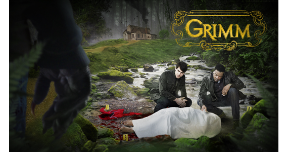 David Giuntoli and Russell Hornsby star in `Grimm,` airing Fridays at 9 p.m. on NBC. (NBC graphic)