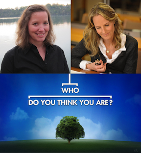 From `Who Do You Think You Are?` Niagara University professor Dr. Shannon Risk and actress Helen Hunt. (NBC photo by Silvia Flores)