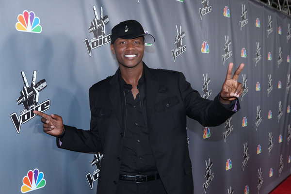 `The Voice` winner Javier Colon (photo by Tyler Golden/NBC)
