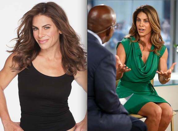 Jillian Michaels appeared on NBC News' `Today` show on Sept. 4. (NBC photos/second by Peter Kramer)