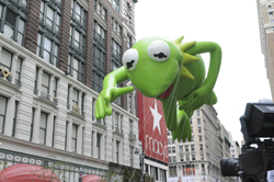 The Kermit the Frog float. (NBC photo)