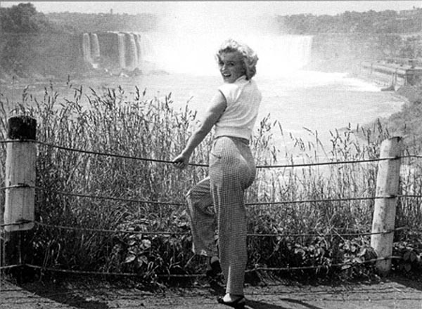 Marilyn Monroe starred in `Niagara.` (photo courtesy of Niagara Falls Local History/NTCC)