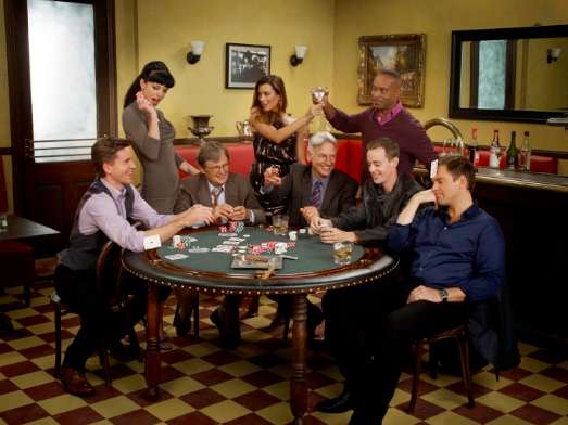 The `NCIS` cast. (CBS photo)
