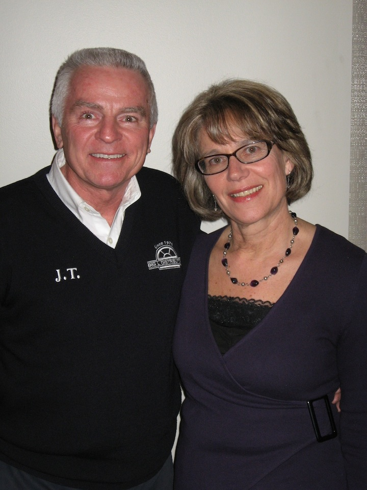 Pictured from left, James L. Turner III and his wife Marge Turner, chairs of the 27th Annual Friends of Niagara University Theatre Gala, to be held on April 28.