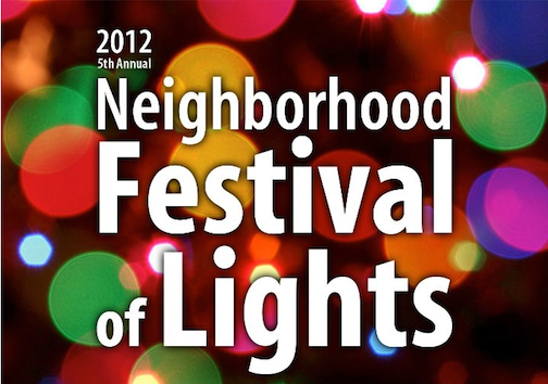 Buffalo's `Neighborhood Festival of Lights` runs through the holiday season.