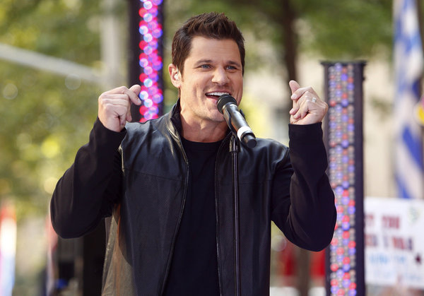 Nick Lachey appeared with 98 Degrees this past summer on NBC News' `Today` show. He's set to host `The Winner Is.` (photo by Peter Kramer/NBC)