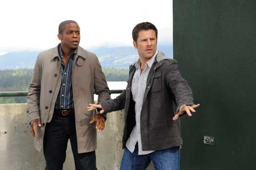 Dulé Hill (Burton `Gus` Guster) and James Roday (Shawn Spencer) star in `Psych` on the USA Network. (USA photo)