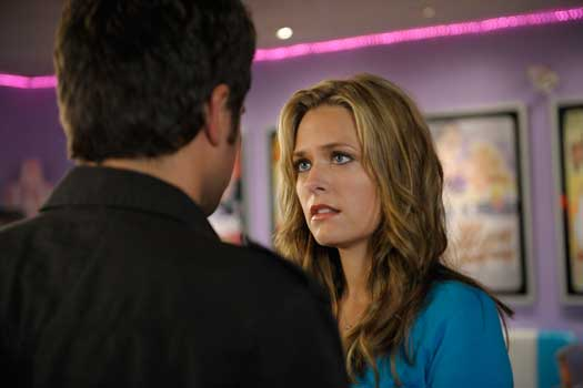 Maggie Lawson's Juliet O'Hara was turned down by James Roday's Shawn Spencer in the season three finale of `Psych.` (USA Network photo by Alan Zenuk)