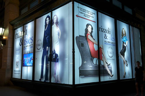 `Rizzoli & Isles` on display. (TNT photo)