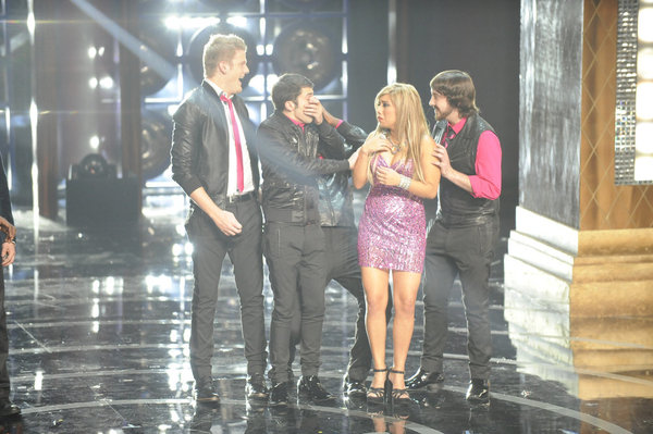 Penatonix wins `The Sing-Off.` (NBC photo by Lewis Jacobs/NBC)