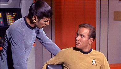 Spock and Kirk -- the original `Star Trek` bad boys. (photo by purpleslog; creativecommons.org)