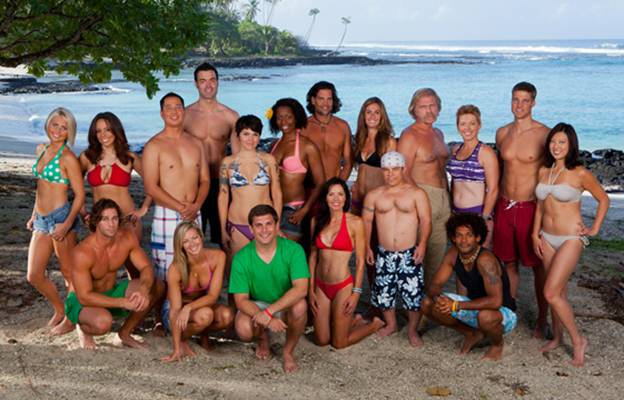 The new `Survivor` cast. (CBS photo)
