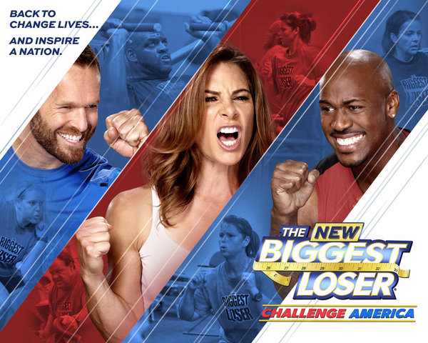 `The Biggest Loser` Season 14: Pictured from left are trainers Bob Harper, Jillian Michaels and Dolvett Quince. (photo by Chris Haston/NBC)