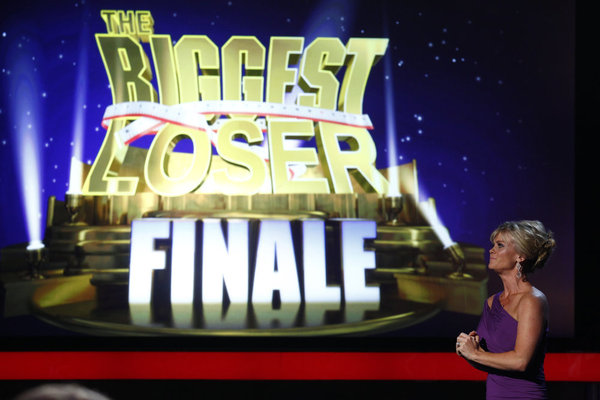 `The Biggest Loser`: Season 13 live finale. Pictured is host Alison Sweeney. (photo by Trae Patton/NBC)