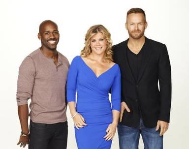Dolvett Quince, Alison Sweeney and Bob Harper from NBC's `The Biggest Loser.` (photo by Mitchell Haaseth/NBC)