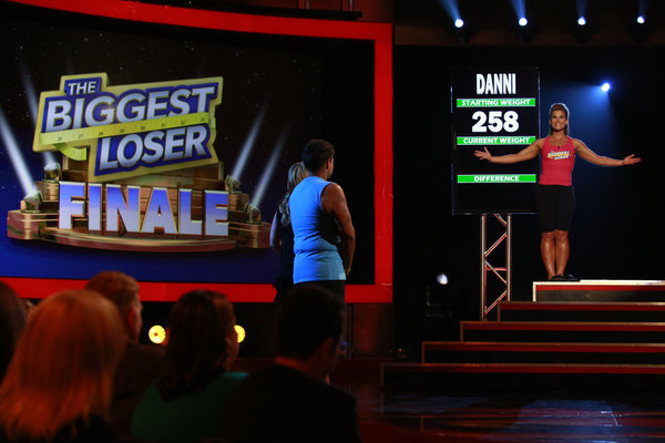 `The Biggest Loser` season 14 live finale: Pictured is winner Dannielle `Danni` Allen. (NBC photo by Trae Patton)