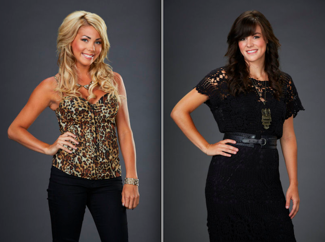 From `The Voice`: Singers Liz Davis and Emily Earle (photos by Paul Drinkwater/NBC)