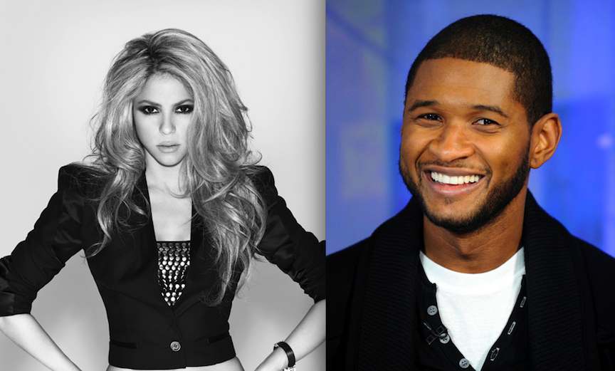 Shakira and Usher will join NBC's `The Voice` for its next cycle. (NBC photos)
