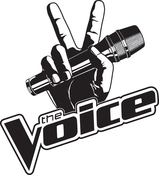 THE VOICE` (NBC logo)