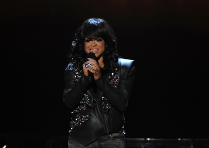 Stacy Francis on `The X Factor` on FOX. (photo by Ray Mickshaw/FOX).