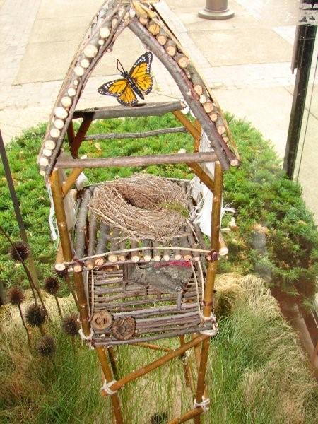 This fairy house by Jessie Slattery is one of six featured in the upcoming `Artpark Fairy House Festival Winners Showcase` at the Castellani Art Museum of Niagara University.