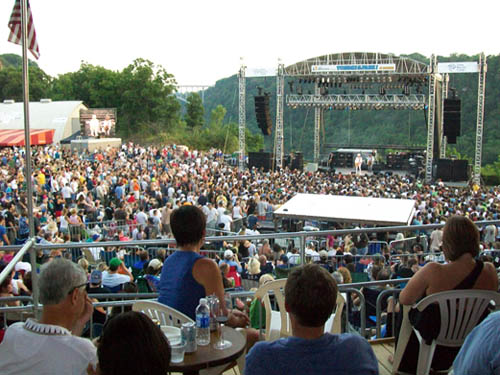 Record crowds are expected for the July 26 and Aug. 2 Artpark concerts.