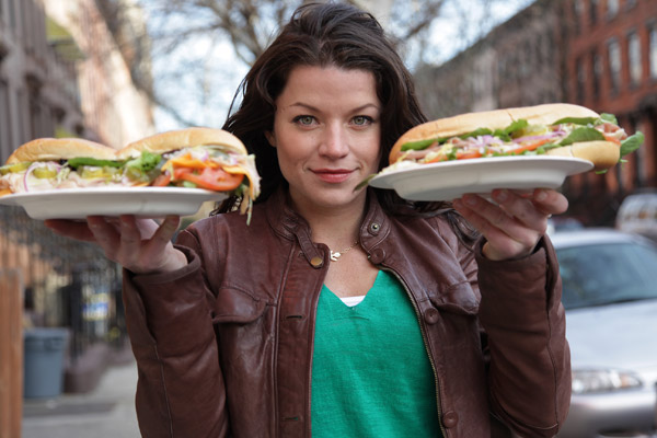 Camille Ford hosts `Food Wars` on the Travel Channel. (photo courtesy of the Travel Channel)