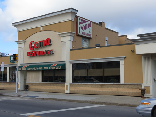 The Como Restaurant in Niagara Falls.