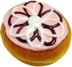 Dunkin' Donuts locations in Erie County are offering guests a special `Flower Power` doughnut as a thank you when they make a $1 donation to Hospice Buffalo.