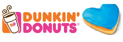 Dunkin' Donuts' special SPCA Serving Erie County doughnut.