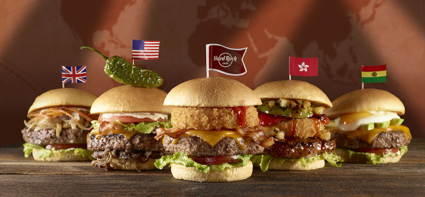 Part of the `World Burger Tour` menu.