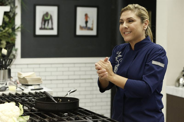 Chef Lorena Garcia will visit `The Biggest Loser.` (NBC photo)