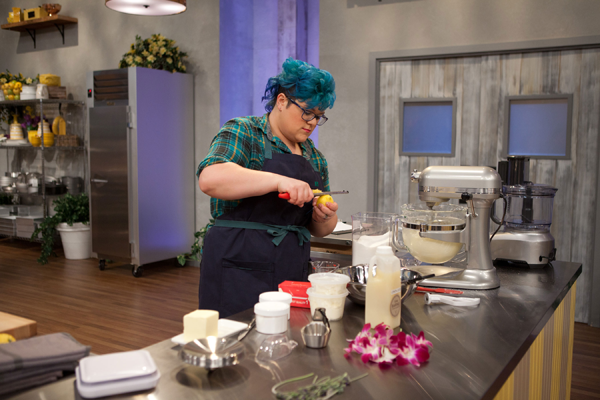 Contestant Sandy Hunter competes on Food Network's `Spring Baking Championship.`