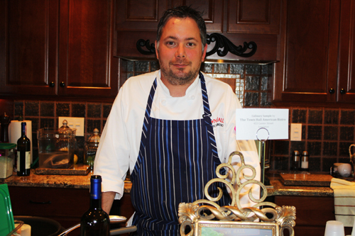 Chef Tom McCormick of Town Hall American Bistro was the winner of the People's Choice Award for the Best Culinary Sample at the Lewiston Region Tour of Kitchens.