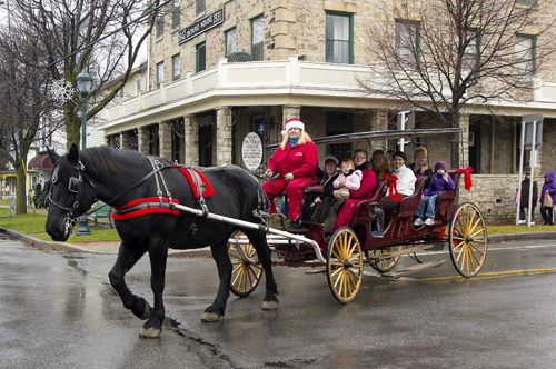 Youngstown's annual Christmas in the Village.