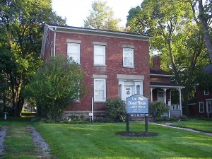 The circa-1823 Col. William Bond/Jesse Hawley House, a Niagara History Center site, is featured in `Doors Open Niagara.` It is located at 143 Ontario St., Lockport.
