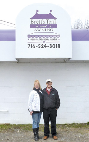 Great Lakes Real Estate Inc., Brett's Tent & Awning have been recognized this year.