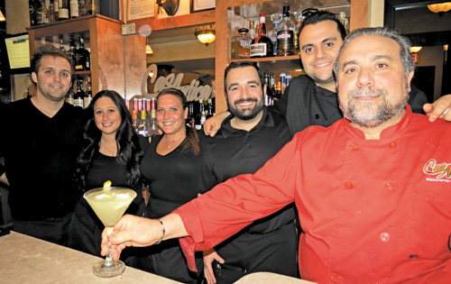 The Casa Antica crew, from left: Dave Quinlan, Bianca Falsetti, Dominique Swanson, Roberto Herman, Charlie Soldano and Jack Soldano.