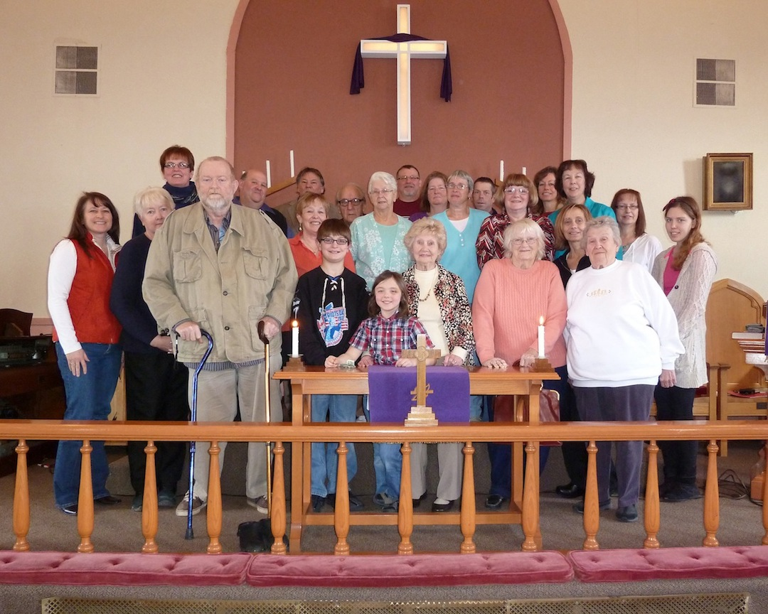 Pictured are members of the Fillmore Chapel congregation.