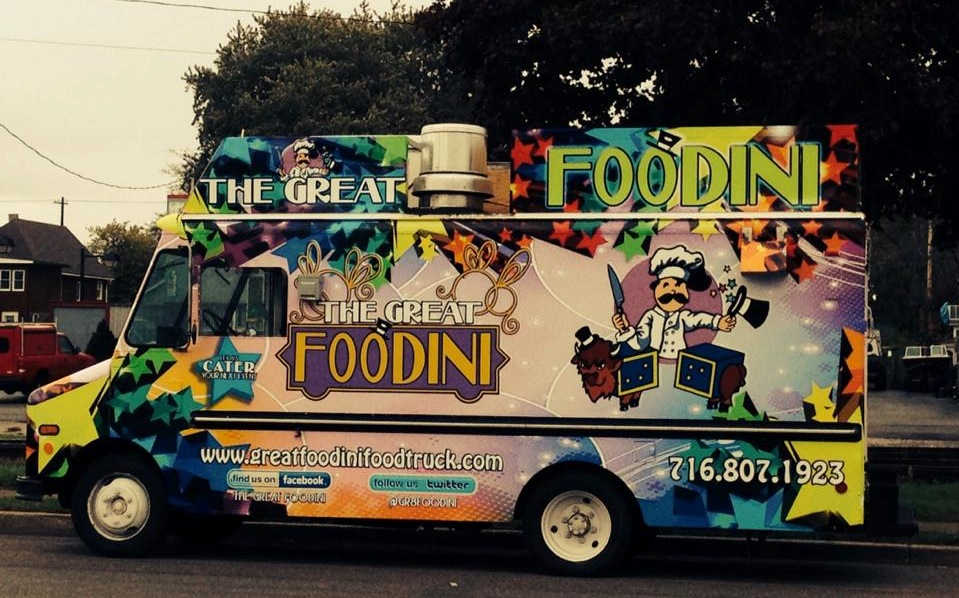 The Great Foodini food truck. (Photo used with permission.)