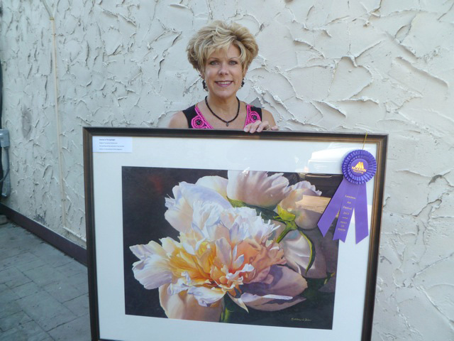 Kathleen Giles won Best of Show 2013. (submitted photo)
