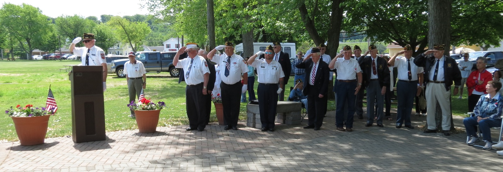 Memorial Day 2013 in the Village of Lewiston. (file photo)